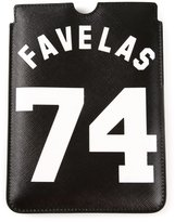Givenchy 'Favelas' iPad case - women - Cotton/Polyurethane/PVC - One Size