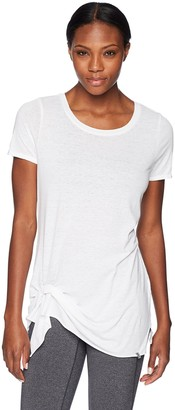 Andrew Marc Women's Draped Front Tee