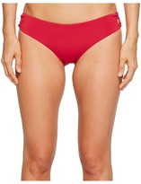 Roxy Strappy Love Lace-Up 70's Bikini Bottom Women's Swimwear