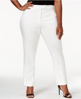 Anne Klein Plus Size Straight-Leg Pants