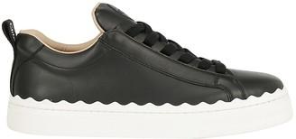 Chloé Lauren Lace-Up Sneakers