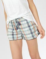 Fat Face Check Racer Pyjama Shorts