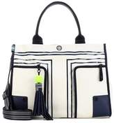 Tory Sport Printed canvas tote