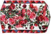 Dolce & Gabbana Mambo Print Cotton Poplin Headband