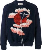Henrik Vibskov Pink Clouds sweatshirt