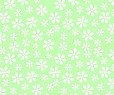 Stokke SheetWorld Fitted Oval Mini) - Pastel Green Floral Woven - Made In USA - 58.4 cm x 73.7 cm ( 23 inches x 29 inches)