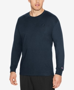 Champion Men's Long-Sleeve Jersey T-Shirt