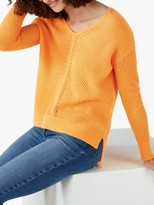 Pure Collection Gassato Cashmere Pointelle Sweater