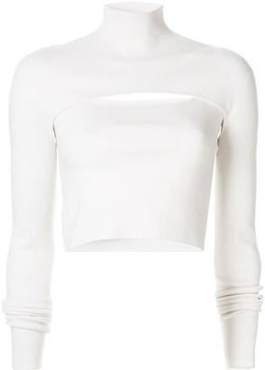 Dion Lee slim-fit layered top