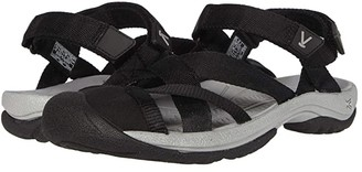 Keen Kira Ankle Strap (Black) Women's Shoes