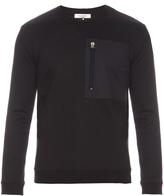 Valentino Patch-pocket crew-neck sweatshirt