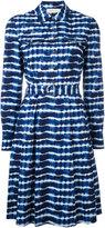 Tory Burch belted shirt dress - women - Cotton/Spandex/Elastane - 2