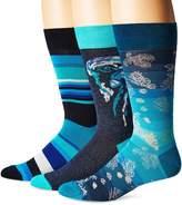 Bugatchi Men's Three-Pack Donato Sock