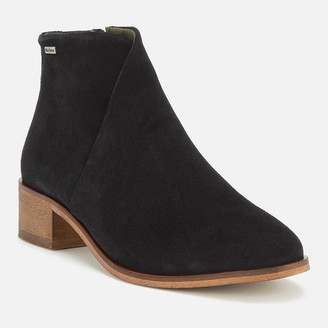 Barbour Women's Caryn Suede Heeled Ankle Boots