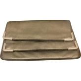 MICHAEL Michael Kors Silver Leather Clutch bag