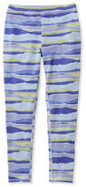 L.L. Bean Girls' L.L.Bean Tech Legging, Print