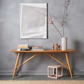 west elm John Vogel Trestle Console - Large