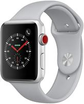 Apple Watch Series 3 (GPS + Cellular), 42mm Silver Aluminium Case With Fog Sport Band