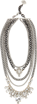 Laura Cantu Pre-Layered Crystal Necklace