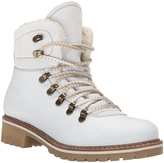 Bos. & Co. White Howe Waterproof Leather Hiking Boot