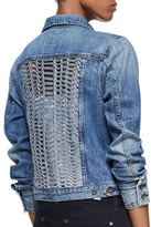 Rag and Bone Bonnaz Loop-Panel Denim Jacket