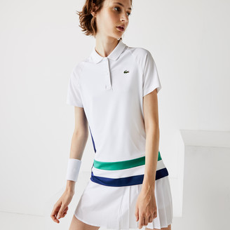 Lacoste Women's SPORT Breathable Stretch Tennis Polo Shirt