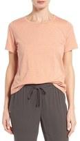 Eileen Fisher Women's Slub Cotton Jersey Tee