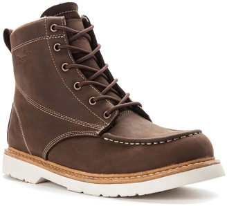 Propet Men's Lace-Up Leather Boots - Watson