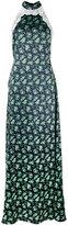 House of Holland long halter-neck dress - women - Polyester - 10