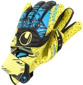 Uhlsport ELIMINATOR SUPERGRIP Goalkeeping gloves lite fluo gelb/schwarz/hydro blau