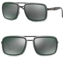 Versace 63MM Square Sunglasses