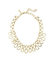 Oscar de la Renta Infinity Ribbon Necklace