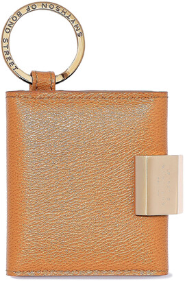 Smythson Grosvenor Textured-leather Keychain