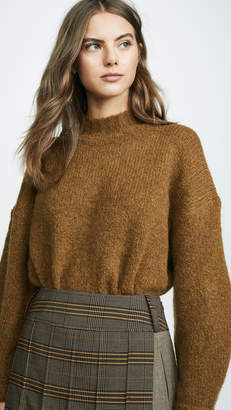 3.1 Phillip Lim Long Sleeve Drop Shoulder Pullover
