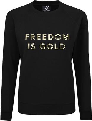 Angelika Jozefczyk Freedom Is Gold Sweatshirt