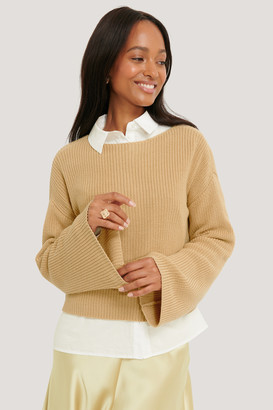 NA-KD Knitted Long Sleeve Sweater