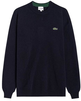 Lacoste Wool Sweater Pullover Navy Ah 1988 - S