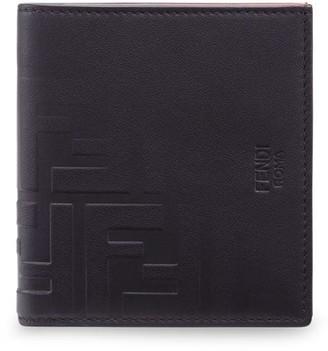 Fendi FF logo slim wallet