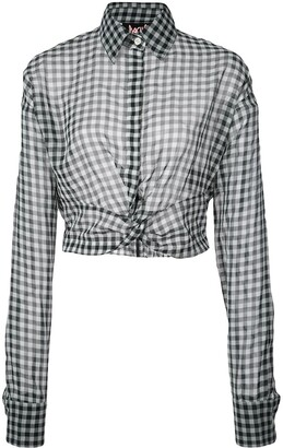 Haculla Plaid Blouse