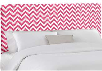 Skyline Furniture Candy/Pink Zig-Zag Upholstered Headboard, Multiple Sizes
