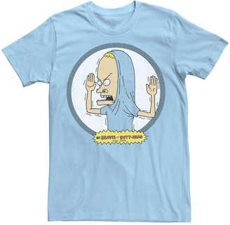 The Great Licensed Character Men's Beavis and Butt-Head Cornholio Circle Portrait Tee