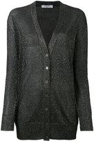 Lanvin metallic cardigan - women - Polyester/Spandex/Elastane/Viscose - M