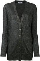 Lanvin metallic cardigan