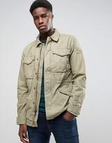 Abercrombie & Fitch Field Jacket Khaki Twill