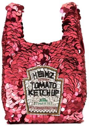 Anya Hindmarch Small Ketchup Tote Bag