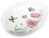 Bakeware, Butterfly Meadow Scalloped Oval Baker
