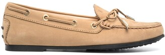 Tod's Flat Lace-Up Moccasins