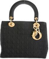 Christian Dior Nylon Medium Lady Bag