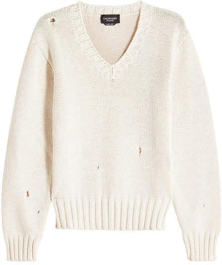 Calvin Klein Oversized Cotton Pullover