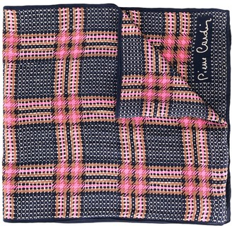 Pierre Cardin Pre Owned Checked Scarf